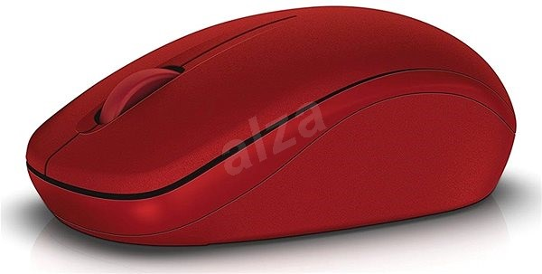 Dell WM126 red - Mouse