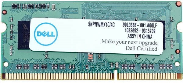 SNPNWMX1C//4G A6951103 4GB DDR3 RAM Replacement for Dell Inspiron 20 3050