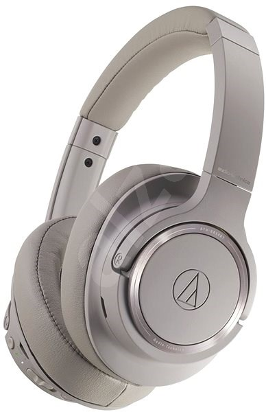 Audio Technica Ath Sr50bt Grey Headphones With Mic Alzashop Com