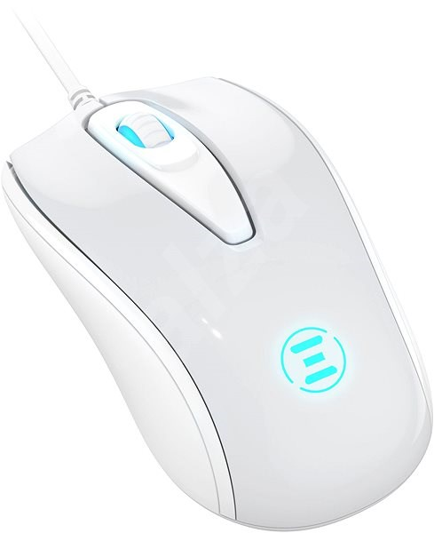 Eternico Wired Mouse MD150, White - Mouse