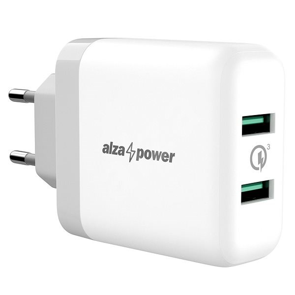 AlzaPower Q200 Quick Charge 3.0 White - Charger