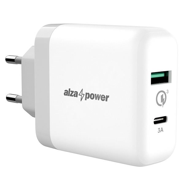 AlzaPower Q200C Quick Charge 3.0 White - Charger