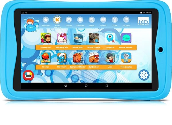Alcatel A3 7 KIDS 8262 Blue - Tablet | Alzashop com