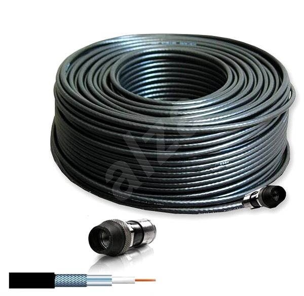 Hirschmann COCA 799 B Universal Outdoor Cable 20 m  - Video Cable