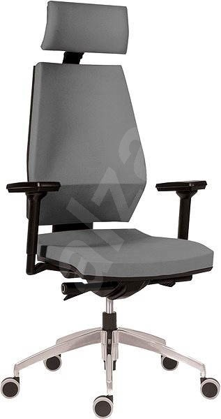 antares 1870 syn motion pdh alu bn5 light gray office chair