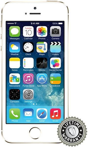 ScreenShield Tempered Glass for Apple iPhone 5/5S/SE - Glass protector