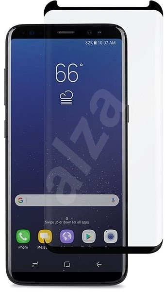 Screenshield Tempered Glass Galaxy S8 G950 (the glass is compatible with cases) - Glass protector