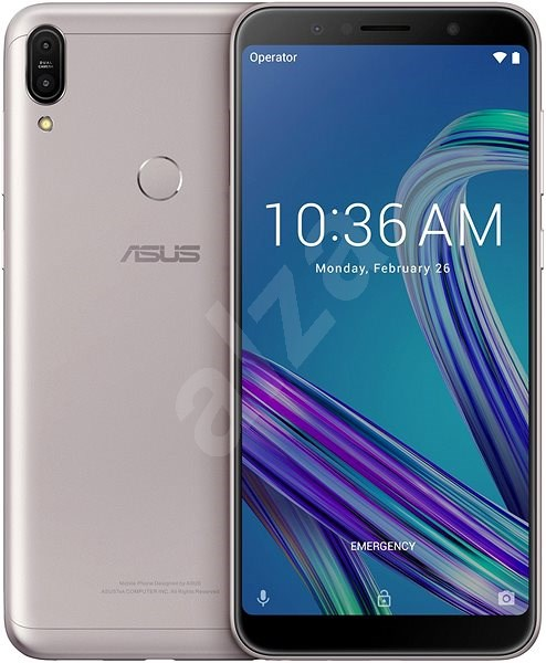 Asus Zenfone Max Pro M1 ZB602KL Silver - Mobile Phone