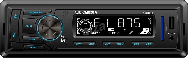 Audiomedia AMR116 - Car Stereo Receiver