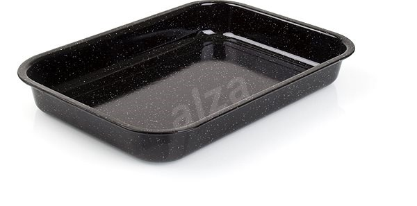 BANQUET Baking Tray rectangular enamel 42cm - Roasting Pan