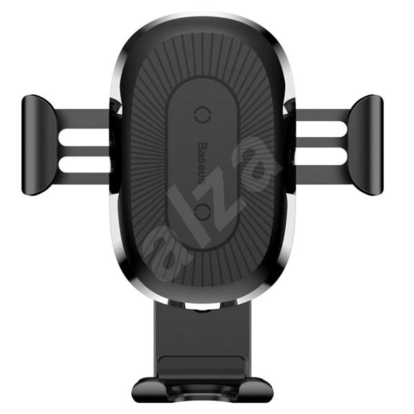 Baseus Wireless Charger Gravity Car Mount Black - Wireless charger
