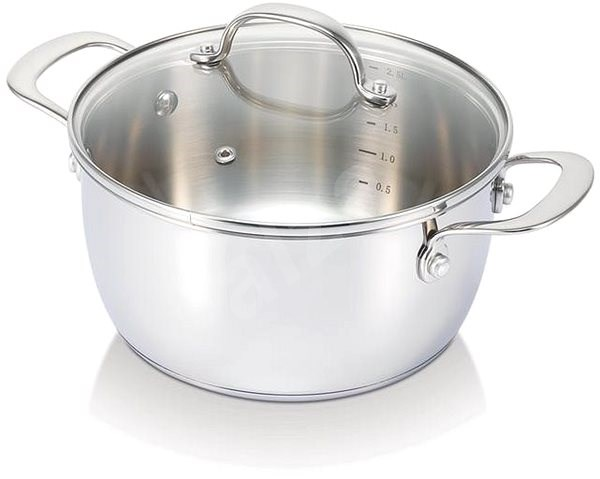 BEKA BELVIA 28CM, STAINLESS STEEL, with Lid - Pot
