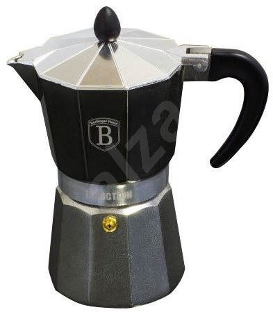BerlingerHaus Espresso Espresso Maker 6 cups Carbon Metallic Line - Kettle