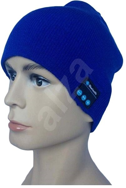 Dolirox Knit Hat with Bluetooth Speakers, blue - Cap