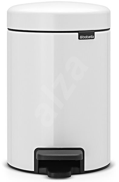 Brabantia, Pedal Bin Newlcon 3l Colour White - Waste Bin