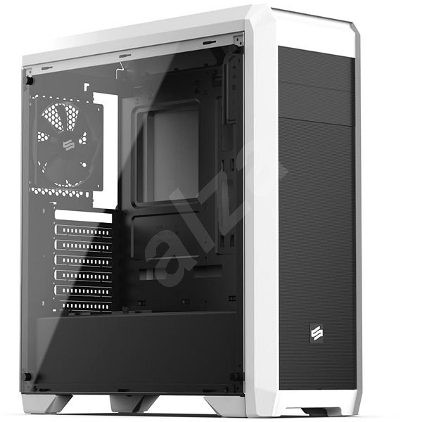 SilentiumPC Regnum RG4TF Tempered Glass white - PC Case