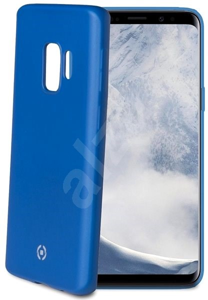 CELLY SoftMatt for Samsung Galaxy S9 Blue - Mobile Case