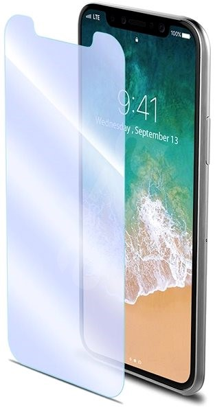 CELLY Glass antiblueray for Apple iPhone X - Glass protector