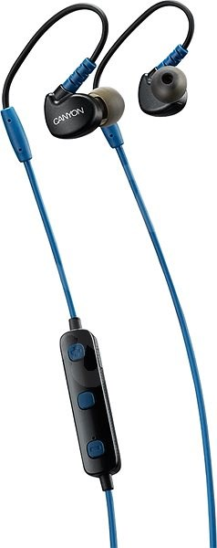 CANYON Sports Blue - Headphones with Mic