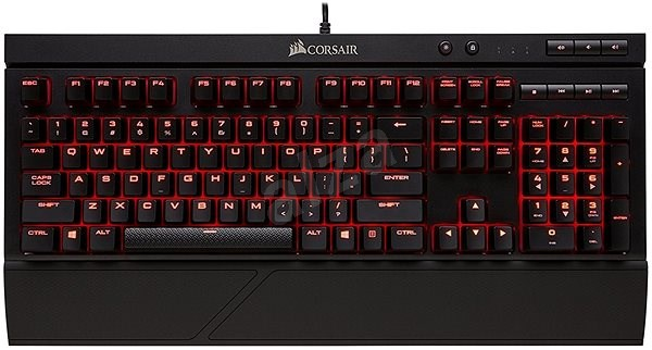 Corsair K68 Red LED US - Gaming keyboard