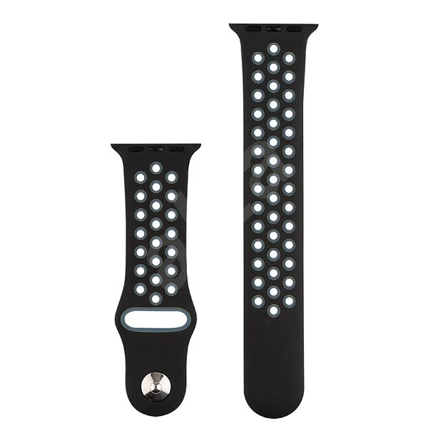 COTEetCI Sports Perforated Strap for Apple Watch 38 / 40mm Black-grey - Watch band