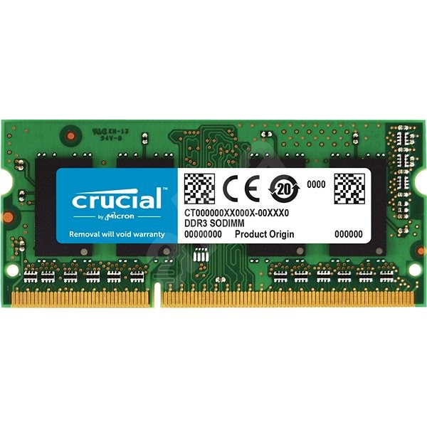 Crucial SO-DIMM 4GB DDR3L 1600MHz CL11 - System Memory