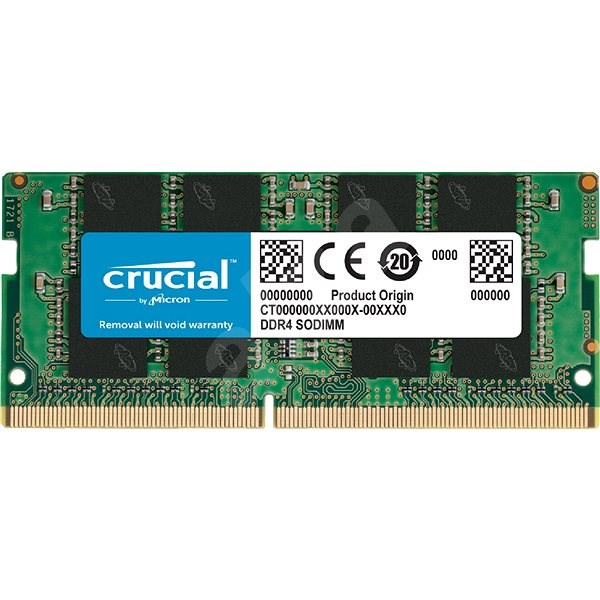 Crucial SO-DIMM 16GB DDR4 3200MHz CL22 - System Memory