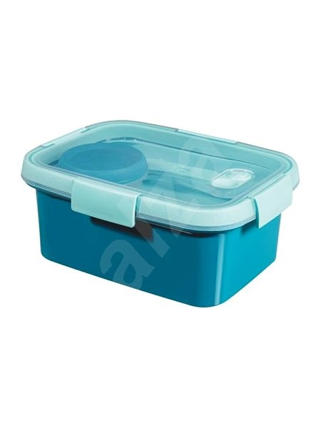 Curver SMART TO GO Lunch Kit 1.2l with cutlery, bowl and tray - blue - Container