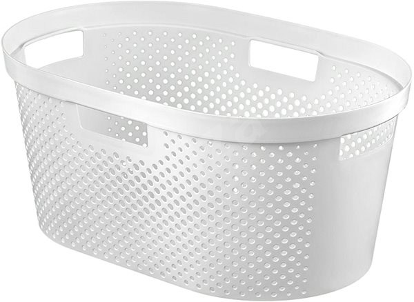 Curver INFINITY 39l White Laundry Basket - Laundry Basket