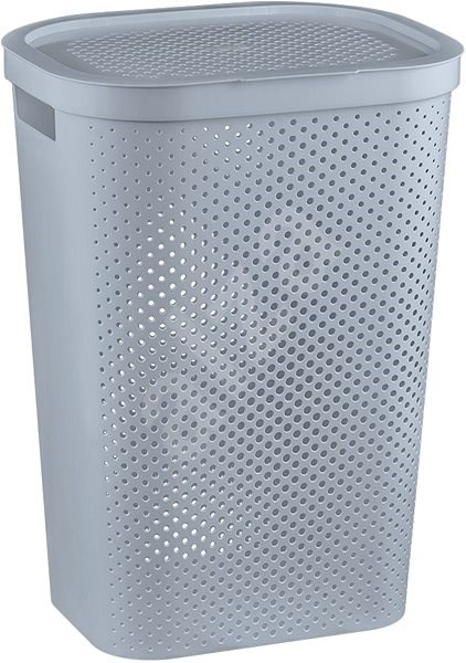 Curver INFINITY 59l Grey Laundry Basket - Laundry Basket