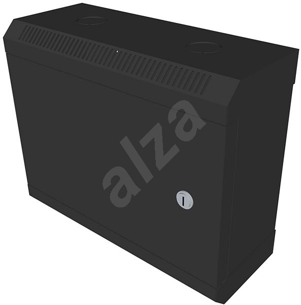 "Datacom 10"" 6U/140mm (sheet metal) black - Rack"
