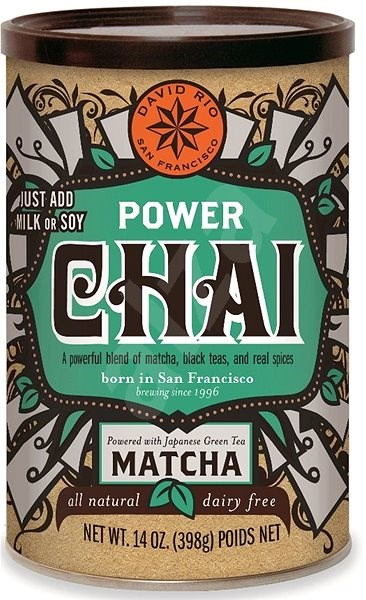 David Power Chai VEGAN,  398g - Drink