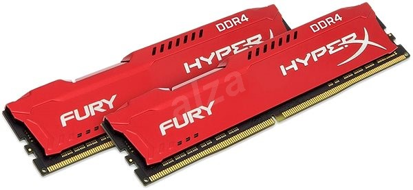 HyperX 16GB DDR4 2666MHz CL16 Fury Red Series - System