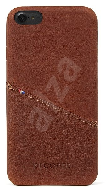 Decoded Leather Case Brown iPhone 7/8/SE 2020 - Mobile Case