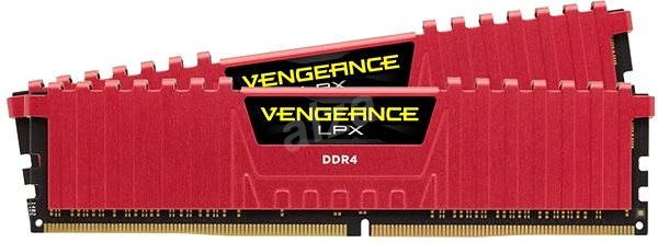 Corsair 16 GB KIT DDR4 2666MHz CL16 Vengeance LPX red - System Memory