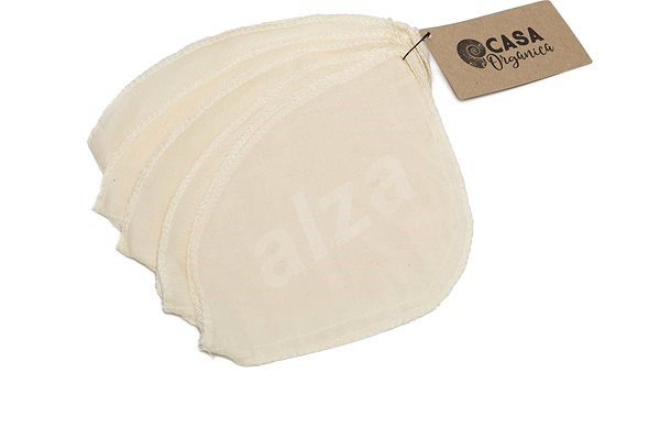 CASA ORGANICA Washable Coffee Filter (5 pcs) - Coffee Maker Filter