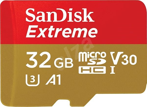 SanDisk MicroSDHC 32GB Extreme Mobile Gaming - Memory Card
