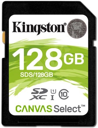 Kingston SDXC 128GB UHS-I U1 - Memory Card