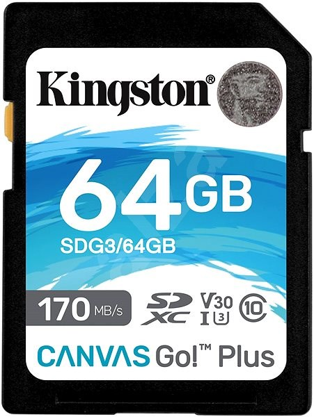 Kingston Canvas Go! Plus SDXC 64GB - Memory Card