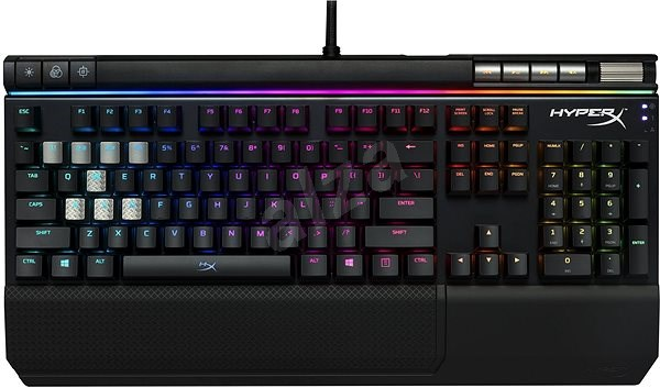 HyperX Alloy Elite RGB Brown Mechanical Gaming Keyboard US - Gaming Keyboard