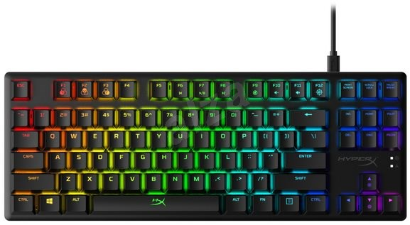 HyperX Alloy Origins Core Aqua Switch (US) - Gaming Keyboard