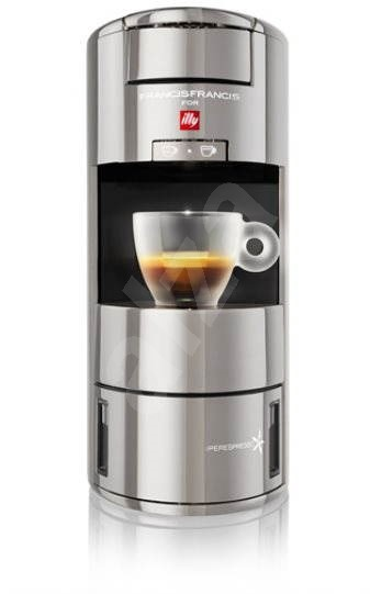 ILLY Francis Francis X 9 iperEspresso Machine Silver - Capsule ...