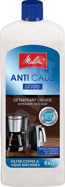 Decalcifier Melitta Anti Calc liquid - Descaler