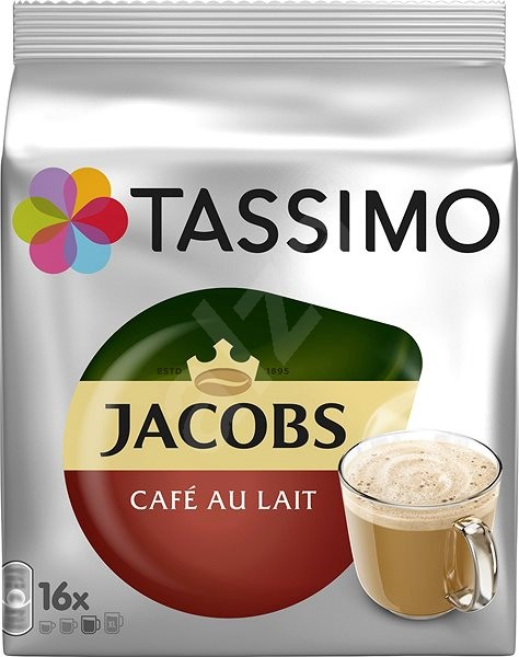 TASSIMO Jacobs Cafe Au Lait 16 pods - Coffee Pods