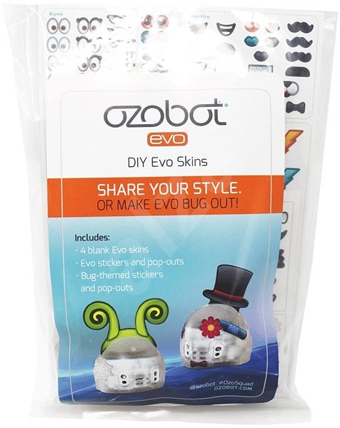 Ozobot EVO DIY A Set of Removable Skins - Robot Accessories