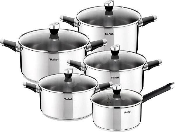 Tefal Emotion, 10pcs - Cookware Set