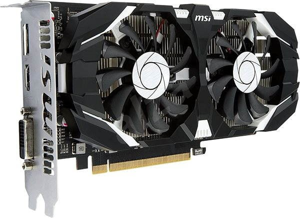 MSI GeForce GTX 1050 Ti 4GT OC - Graphics Card