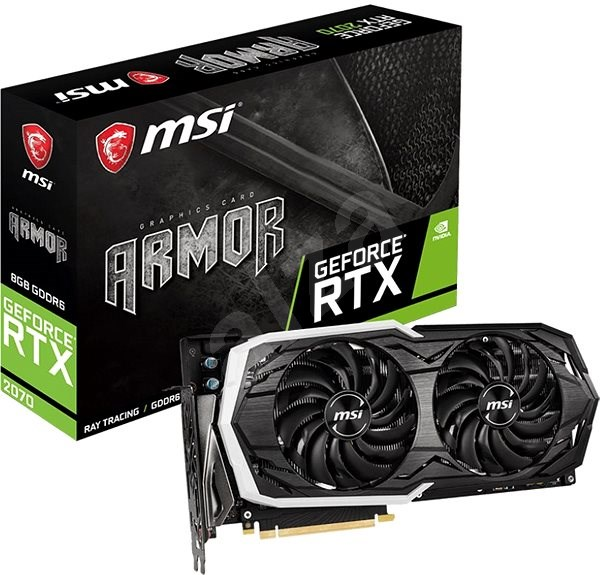 MSI GeForce RTX 2070 ARMOR 8G - Graphics Card