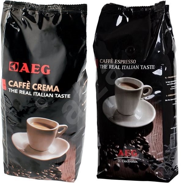 AEG Coffee Beans, 2x 1000g - Set
