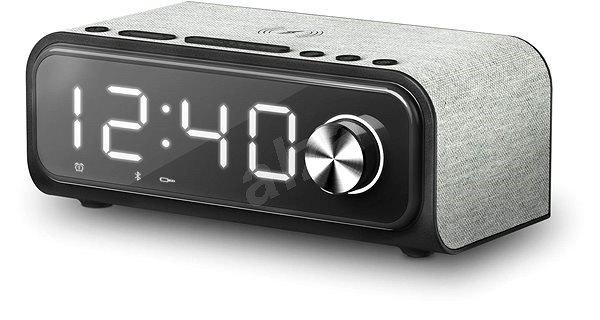 Energy Sistem Clock Speaker 4 Wireless Charge Radio Alarm Clock Alzashop Com